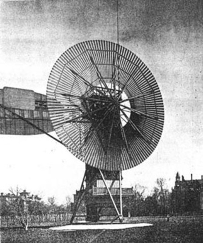 First Windmill to Develop Electricity