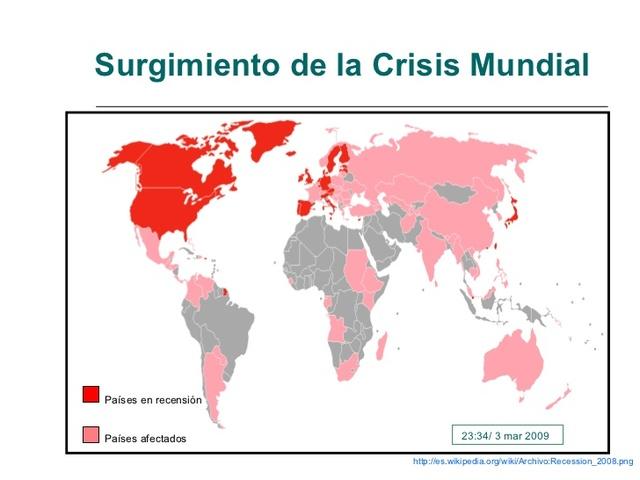 Crisis económica de 2008 a 2015