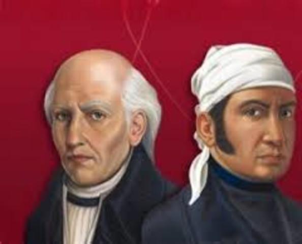 decretos emitidos por Miguel Hidfalgo y José Ma. Morelos