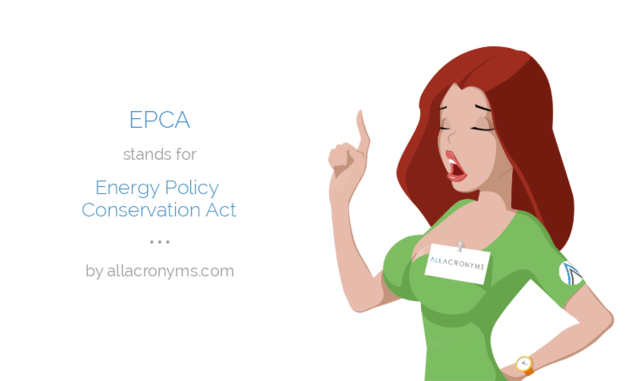 Energy Policy and Conservation Act
