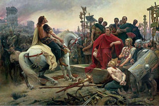 Guerra contra Pompeyo, muerte de este y triunfo de julio césar. año: 48 a.c.