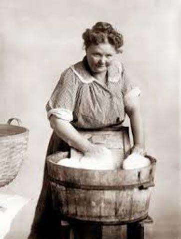 Wash board and tub