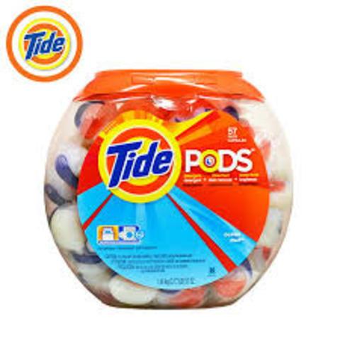 Pre-packaged detergent packs