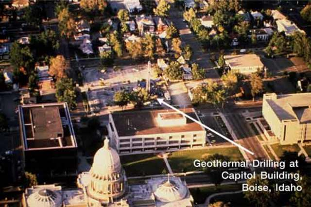 The World's First Geothermal District Heating System