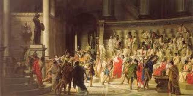 510 a.C - 27 a.C Repúbica Romana