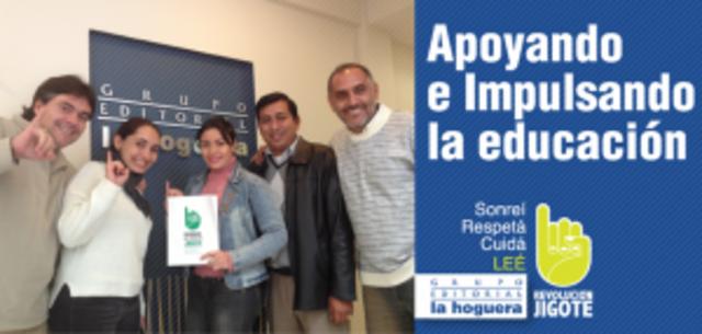 ¡El Grupo Editorial La Hoguera y La Casa del Maestro se unen a La Revolución Jigote!