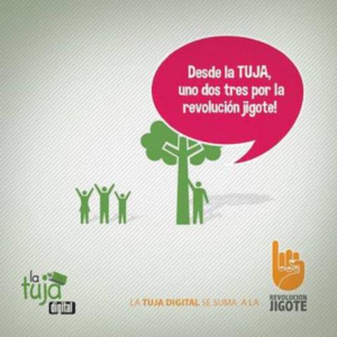 La Tuja Digital se suma a la Revolución Jigote