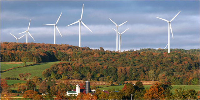 The World's First Wind Farm