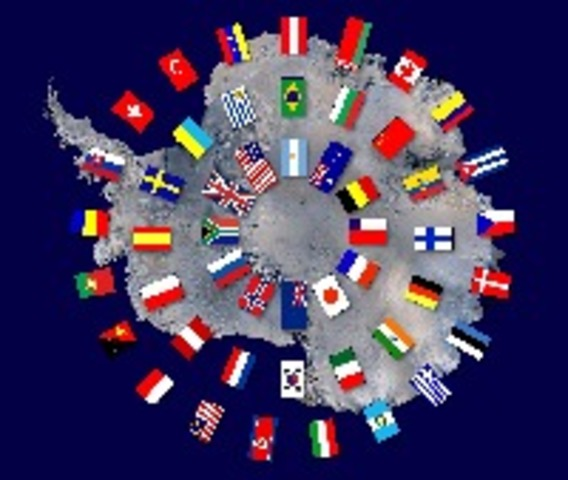 The Antarctic Treaty is put into action
