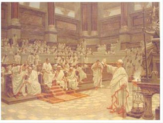 Nombramiento del Tribuno de la Plebe (494a.C)