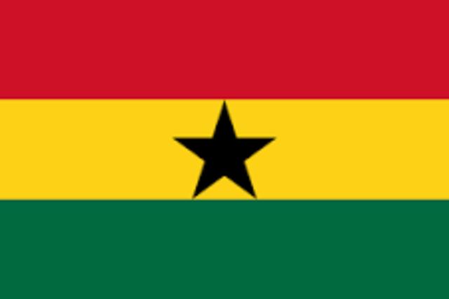 Independencia de Ghana, Primera Nación Independiente en África.