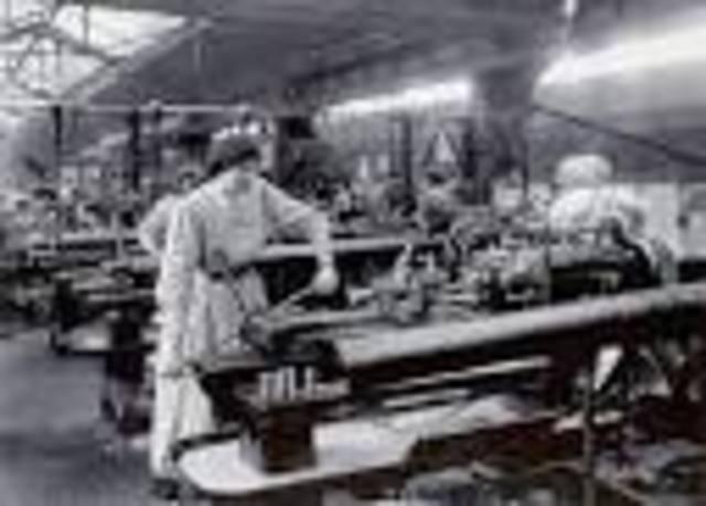 Se hace la Revolución Industrial