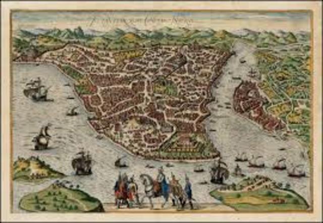 330 d.C Constantinopolis