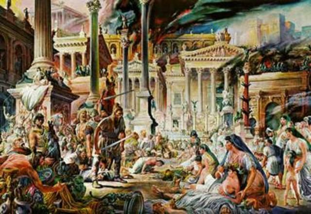 1453 Caída del Imperio Romano de Oriente