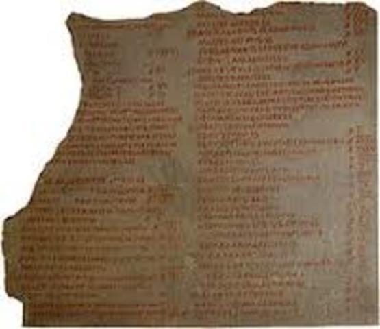 Adrino promulga el Edicto Perpetuo año: 130 d.c.