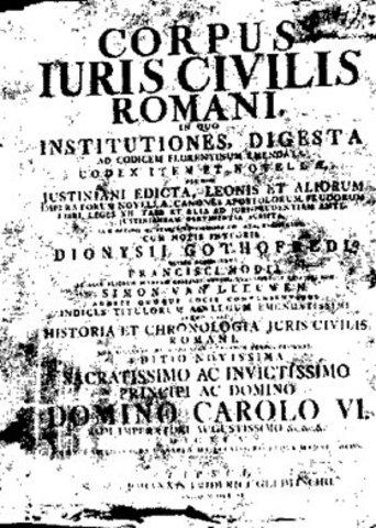 publicación del primer código Justiniano. año: 529 d.c.