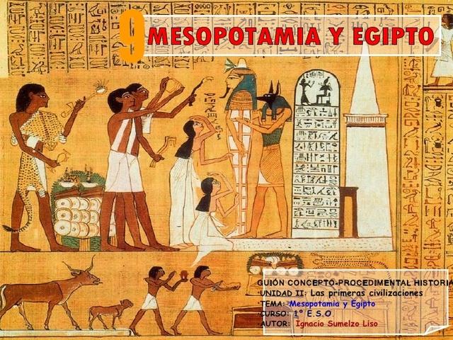 Culturas egipcia