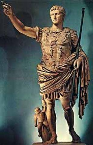 INICIO DEL IMPERIO ROMANO EN 27 A.C.