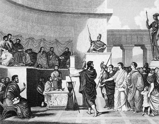 a.C.; Inicio de la República.