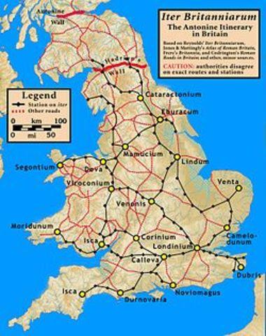 Invasión Britania en 43 d.C.