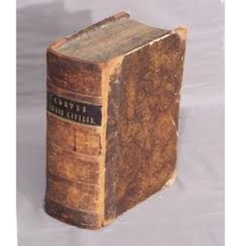 Se complementó el Código Gregoriano (295d.C)