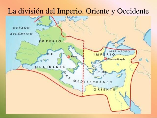 Se repartió el Imperio (395d.C)