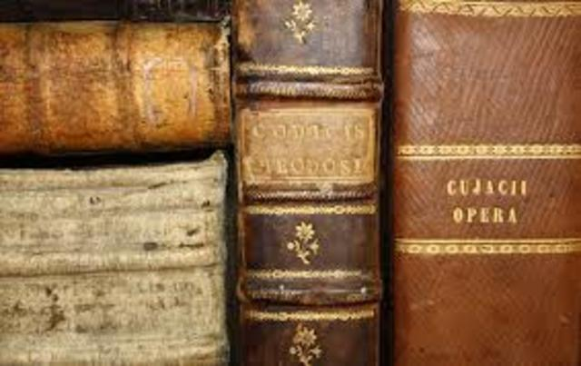 Compilación de todo el derecho y publicó una colección de todas las constituciones imperiales (429d.C)