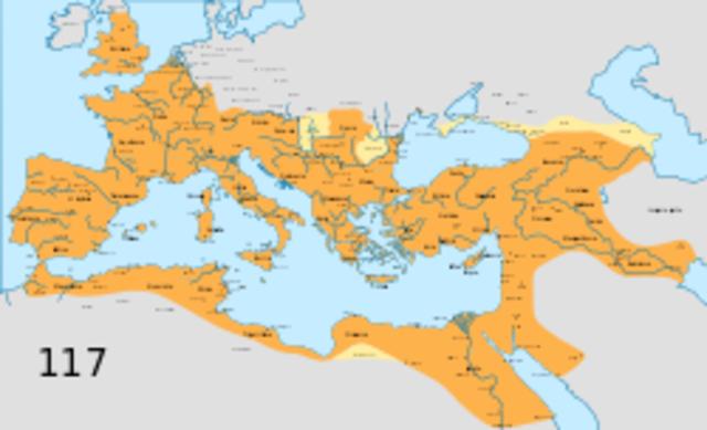 Inicio de la etapa de los 5 buenos emperadores en 96 d.C.
