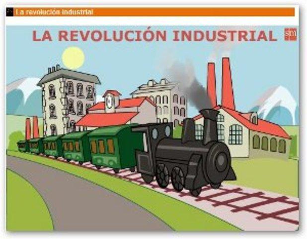 •Revolución industrial inglaterara