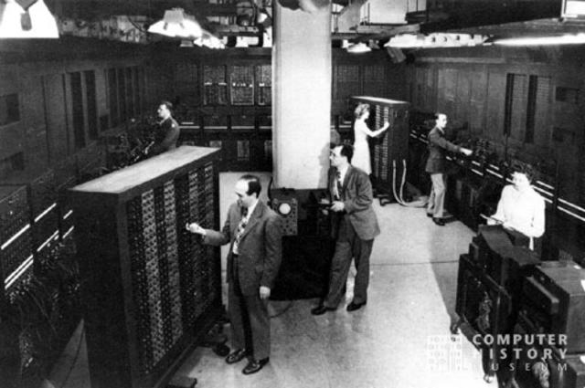 Calculadora numérica de ENIAC.