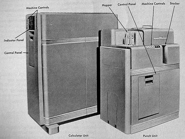 Calculadora del transitor de IBM's.