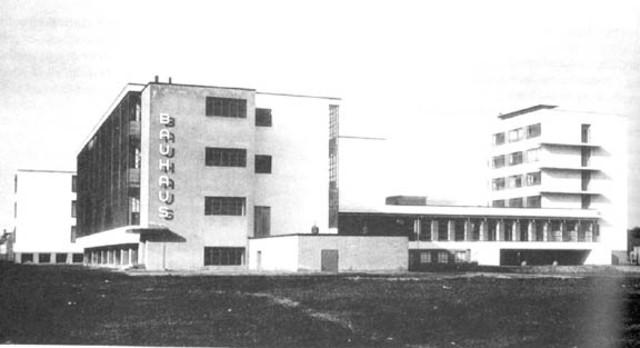 """W. GROPIUS & le Bauhaus, l'école des """"Modernes"""" (ALL)"""