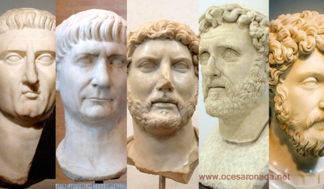 El Imperio Absoluto: Los Cinco Buenos Emperadores 284 al 476
