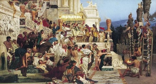 El Imperio Absoluto: El fin del Imperio Romano 284 al 476