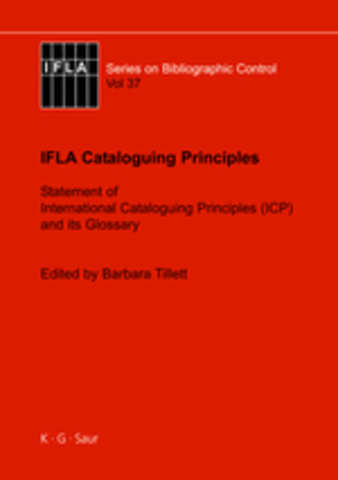 IFLA Statement of International Cataloguing Principles