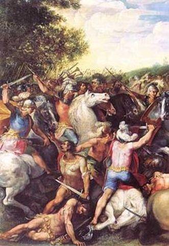 (673-642a.C) Rey Tulio Hostilio