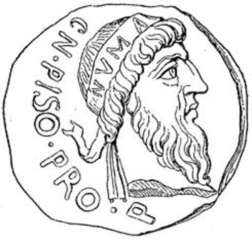 (716-674a.C) Rey Numa Pompilio
