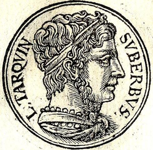(534-509a.C) Rey Tarquino el soberbio