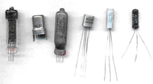 Se Crean Los Transistores