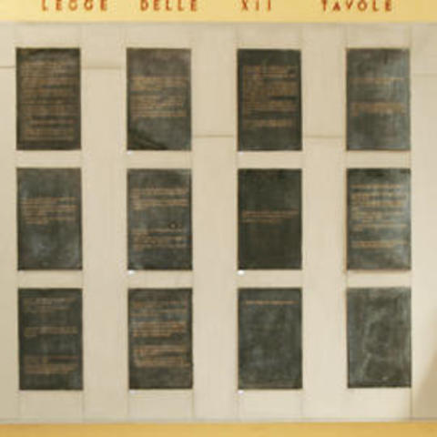 (450-449a.C.) Promulgacion XII Tablas