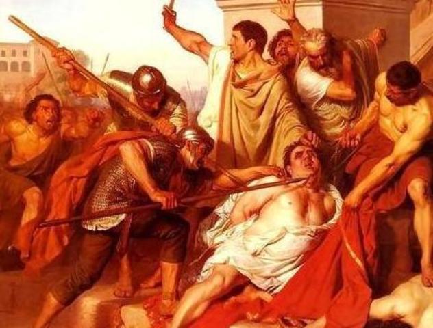 Muere Galba en 69 d.C.
