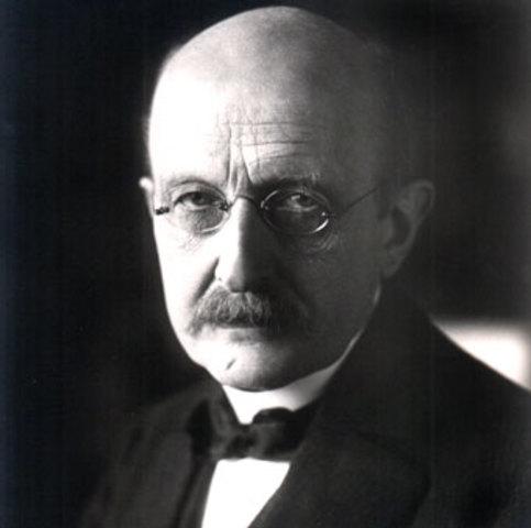 Planck entra a estudiar la radiación de un cuerpo negro