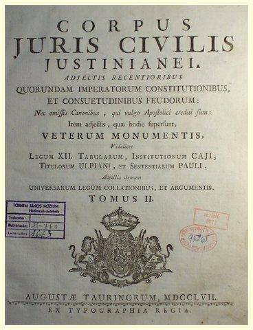 (529d.C) Codigo Justiniano