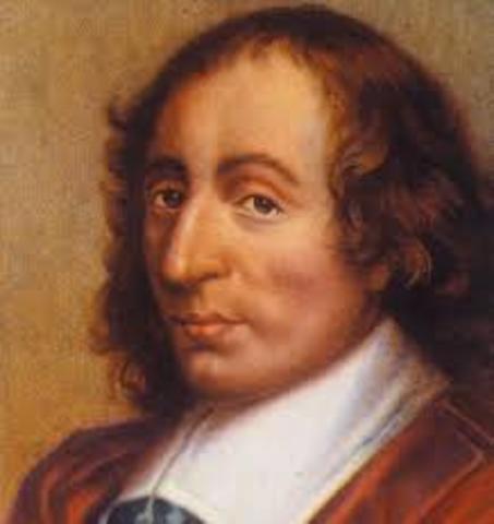 Blaise Pascal inventa maquina aritmetica