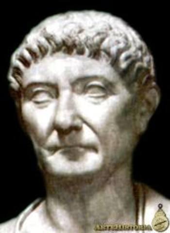 Dioclesiano, Proclamado Emperador