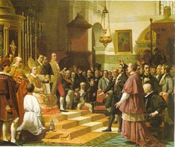 El principio estado de derecho liberal 1810
