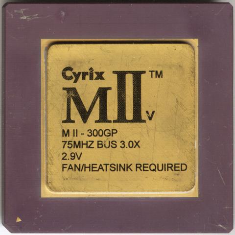 Cyrix MII