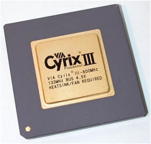 Cyrix III o Joshua