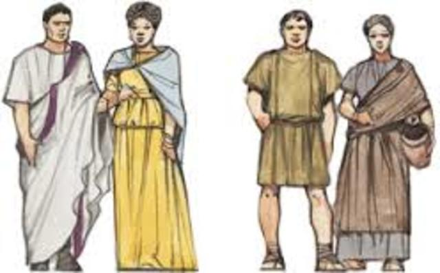 753 a.C La Sociedad Romana