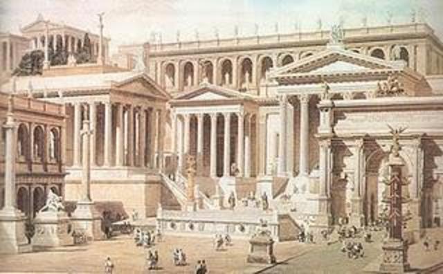 Fundación de Roma (753 a.C)